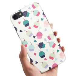 iPhone 5/5S/SE - Skal / Mobilskal Cupcakes