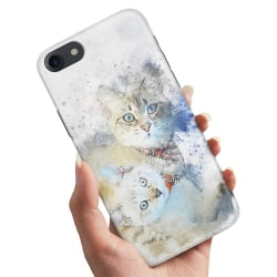 iPhone 5/5S/SE - Skal / Mobilskal Katter