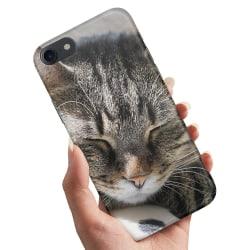 iPhone 5/5S/SE - Skal / Mobilskal Sovande Katt