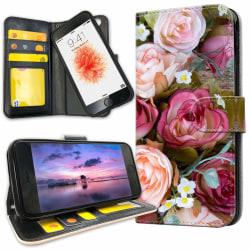 iPhone 6/6s Plus - Plånboksfodral Blommor