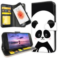 iPhone 6/6s Plus - Plånboksfodral Cute Panda