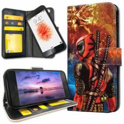 iPhone 6/6s Plus - Plånboksfodral Deadpool Space