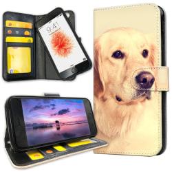 iPhone 6/6s Plus - Plånboksfodral Golden Retriever