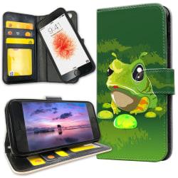 iPhone 6/6s Plus - Plånboksfodral Groda