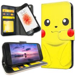 iPhone 6/6s Plus - Plånboksfodral Pikachu / Pokemon