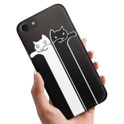 iPhone 6/6s Plus - Skal / Mobilskal Avlånga Katter
