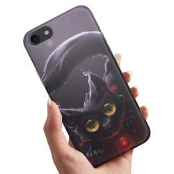iPhone 6/6s - Skal / Mobilskal Svart Katt Svart