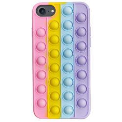 iPhone 6/7/8/SE (2020) - Pop It Fidget Skal / Mobilskal multifärg