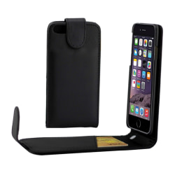 iPhone 7 & 8 Flipfodral med Kortfack - Svart Svart