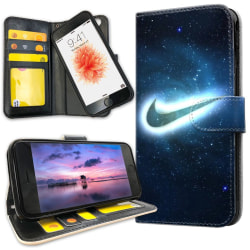 iPhone 7 - Plånboksfodral Nike Yttre Rymd