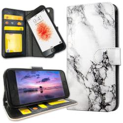 iPhone 7 Plus - Plånboksfodral Marmor