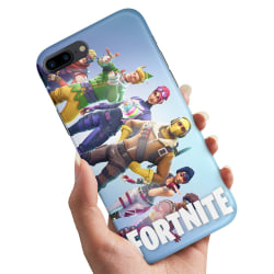 iPhone 7 Plus - Skal / Mobilskal Fortnite