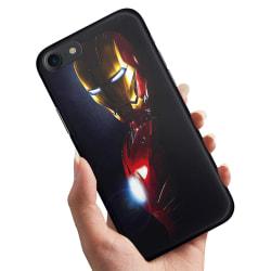 iPhone 7 - Skal / Mobilskal Glowing Iron Man