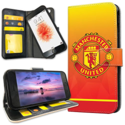 iPhone 8 - Plånboksfodral Manchester United