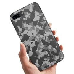 iPhone 8 Plus - Skal / Mobilskal Kamouflage
