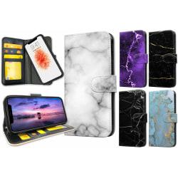 iPhone X - Marmor Plånboksfodral / Skal 5