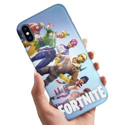 iPhone X - Skal / Mobilskal Fortnite