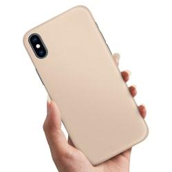 iPhone XS - Skal / Mobilskal Beige Beige