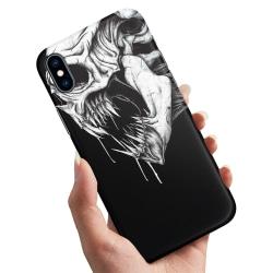 iPhone XS - Skal / Mobilskal Döskalle Monster