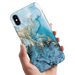 iPhone XS - Skal / Mobilskal Konstmönster