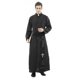 Katolsk Präst Maskeraddräkt - Halloween & Maskerad
