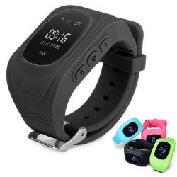 Klocka med GPS-tracker & SOS för Barn - Barnsäkerhet Black