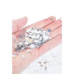 Konfettistjärnor / Konfetti / Stjärnor - Silver