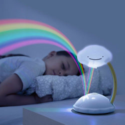 LED-lampa / Projektor Nattlampa - Regnbåge