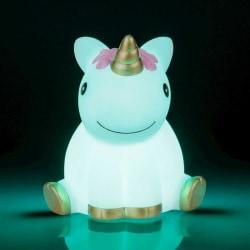 LED-lampa / Trådlös Nattlampa - Enhörning / Unicorn