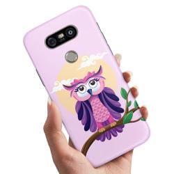 LG G5 - Skal / Mobilskal Fin Uggla