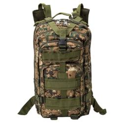 Militärväska / Ryggsäck i Nylon, Camouflage - 25 Liter