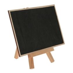 Mini Blackboard Tavla på Ställ - Trä