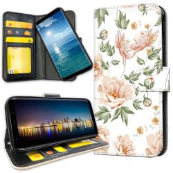 OnePlus 5 - Plånboksfodral Blommönster