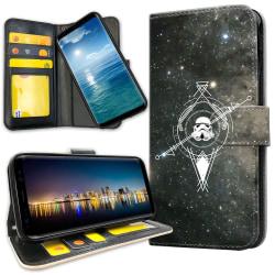 OnePlus 5T - Plånboksfodral Galaxkompass