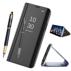 OnePlus 6T - Mobilfodral / Fodral Spegel - Svart Svart
