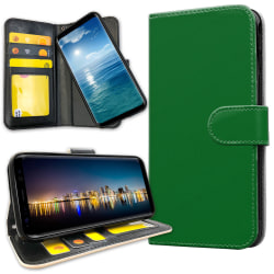 OnePlus 6 - Plånboksfodral Grön