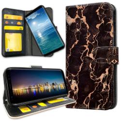 OnePlus 6 - Plånboksfodral Marmor