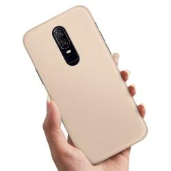 OnePlus 6 - Skal / Mobilskal Beige Beige