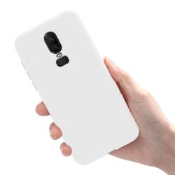 OnePlus 6 - Skal / Mobilskal Lätt & Tunt - Vit Vit