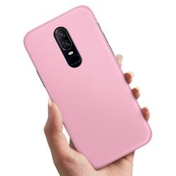 OnePlus 6 - Skal / Mobilskal Ljusrosa Ljusrosa