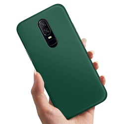 OnePlus 6 - Skal / Mobilskal Mörkgrön