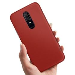 OnePlus 6 - Skal / Mobilskal Mörkröd