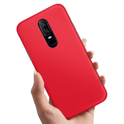 OnePlus 6 - Skal / Mobilskal Röd Röd