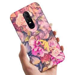 OnePlus 6 - Skal / Mobilskal Roses