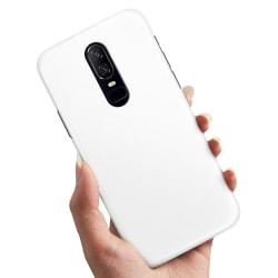 OnePlus 6 - Skal / Mobilskal Vit