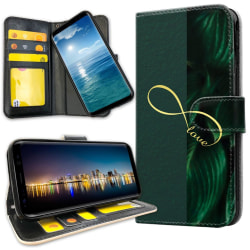 OnePlus 6T - Plånboksfodral Infinite Love