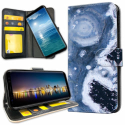 OnePlus 6T - Plånboksfodral Marmor