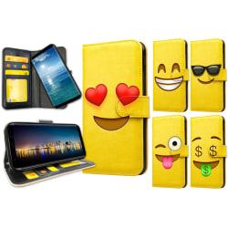 OnePlus 6T - Plånboksfodral / Skal Emoji 6