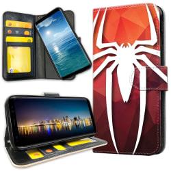 OnePlus 7 Pro - Plånboksfodral Spider-Man Symbol