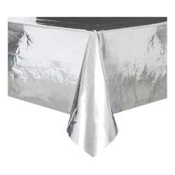 Plastduk / Bordsduk / Duk till Bord - Silver Metallic Silver